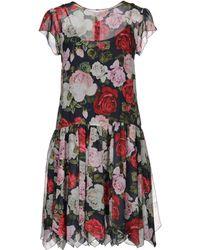 Blugirl Blumarine - Short Dress - Lyst