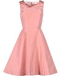 Oscar de la Renta - Knee-length Dress - Lyst