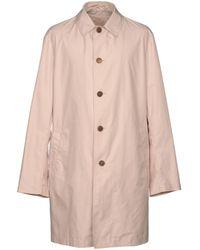 Ferragamo - Overcoat - Lyst