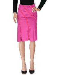Clips - 3/4 Length Skirt - Lyst