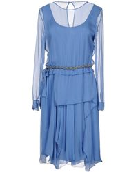 Alberta Ferretti - Knee-length Dress - Lyst