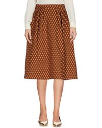 Pinko - 3/4 Length Skirt - Lyst