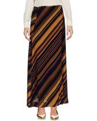 Ottod'Ame - Long Skirt - Lyst