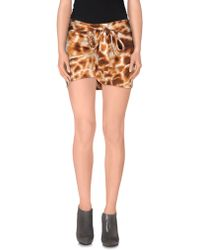 Just Cavalli - Mini Skirt - Lyst