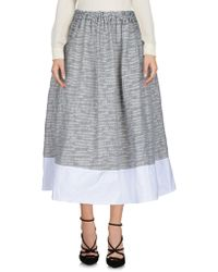 Jijil - 3/4 Length Skirts - Lyst