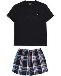 En Pyjama Pour Motif Ralph Pantalon Homme De Polo Poney Lauren qzMLpSUVG