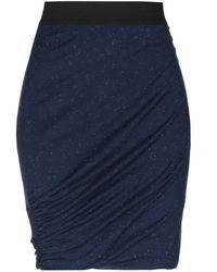 Ichi - Knee Length Skirt - Lyst