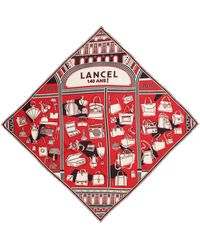 Lancel - Square Scarf - Lyst