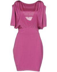 Guess - Short Dress - Lyst