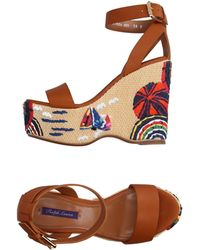 Ralph Lauren Collection - Sandals - Lyst