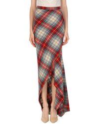 DSquared² - Long Skirt - Lyst