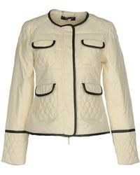 Twin Set - Synthetic Down Jacket - Lyst