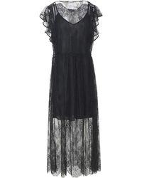 Pinko - 3/4 Length Dress - Lyst