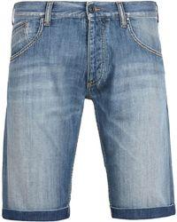 Armani Jeans - Bermuda vaquera - Lyst