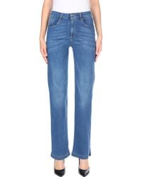 Carla G - Denim Trousers - Lyst