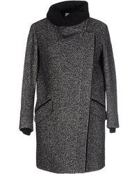 Vince - Wool-cotton Blend Coat - Lyst
