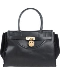 Hill & Friends - Leather Tote Bag - Lyst