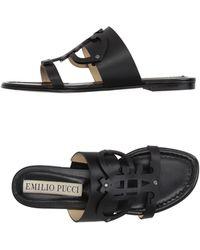 Emilio Pucci - Sandals - Lyst