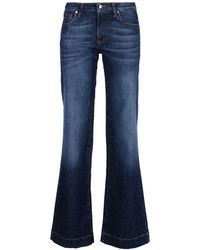 8 - Denim Pants - Lyst