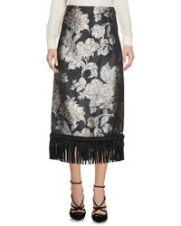 Christian Pellizzari - 3/4 Length Skirt - Lyst