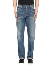 Jean Shop - Denim Pants - Lyst