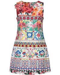 Desigual - Short Dress - Lyst
