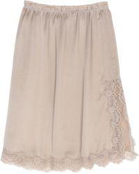 Icons - 3/4 Length Skirt - Lyst