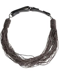 Brunello Cucinelli - Necklaces - Lyst