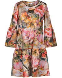 Sfizio - Short Dress - Lyst