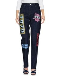 American Retro - Denim Pants - Lyst