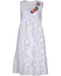 Suoli - 3/4 Length Dress - Lyst
