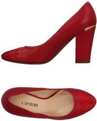 A.Testoni - Court Shoes - Lyst