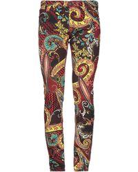 7744065cb0ee Lyst - Pantalon de jogging ajust avec bande sur un ct Versace Jeans ...
