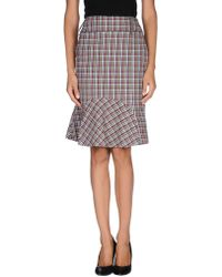 Gianfranco Ferré - Knee Length Skirt - Lyst