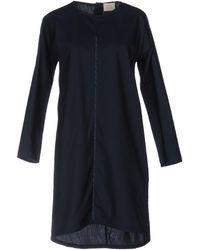 Maud Heline Short Dress - Blue