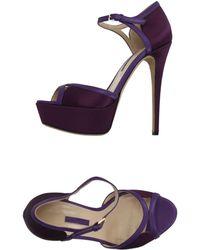 Elie Saab - Sandals - Lyst