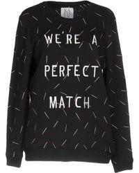 Zoe Karssen   Embroidered Match Sweatshirt   Lyst