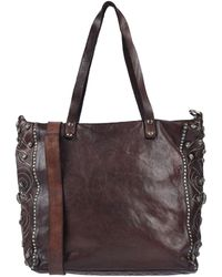 free delivery outlet store sale latest fashion Campomaggi Washed Leather Messenger Bag - Cognac in Brown - Lyst