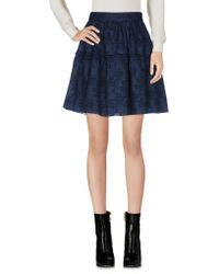 Leon & Harper   Mini Skirt   Lyst