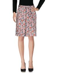 L'Autre Chose - Knee Length Skirts - Lyst