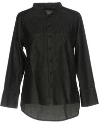Le Mont St Michel - Denim Shirt - Lyst