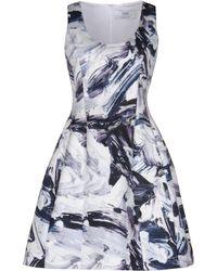 Prabal Gurung - Painterly Print Dress - Lyst