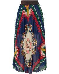 Anna Sui - Long Skirt - Lyst