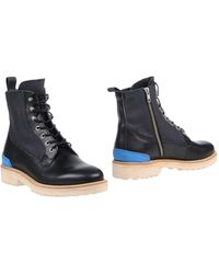 Leather Crown - Ankle Boots - Lyst