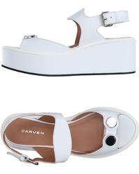 Carven - Sandals - Lyst