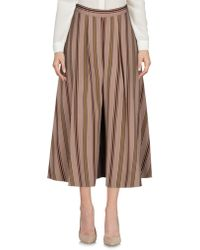 Niu - 3/4-length Trousers - Lyst