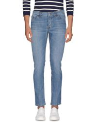 Alessandro Dell'acqua - Denim Trousers - Lyst