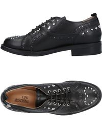 Love Moschino - Lace-up Shoe - Lyst