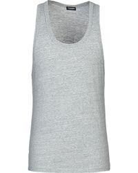 DSquared² - Sleeveless Undershirt - Lyst