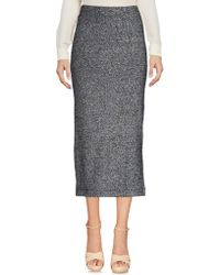 French Connection - 3/4 Length Skirt - Lyst